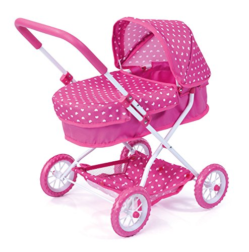 Bayer Design - Cochecito de muñeca, Smarty, color rosa (12268AA)