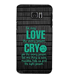 PrintVisa Designer Back Case Cover for Samsung Galaxy S6 Edge+ :: Samsung Galaxy S6 Edge Plus :: Samsung Galaxy S6 Edge+ G928G :: Samsung Galaxy S6 Edge+ G928F G928T G928A G928I (Love Defining Quote)