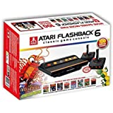Atari Flashback 6 Games Console (2 player with 100 Atari Games and wireless controllers)