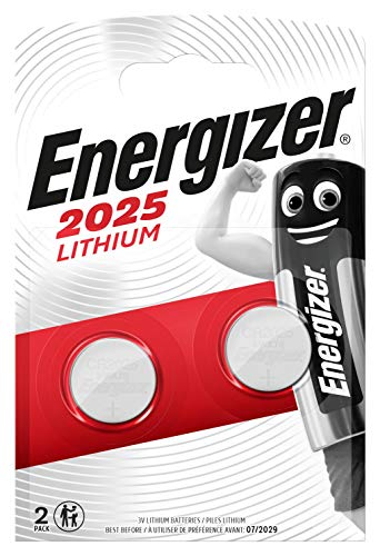 Piles bouton Energizer Ultimate Lithium CR2025, pack de 2