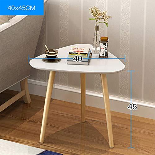 Rright! Couchtisch Kaffee Ende Tabellen Modernes Rundes Seitensofa Imbiss Nachttisch Nachttisch Für Wohnzimmer Haus Und Büro (Dreieckig),B
