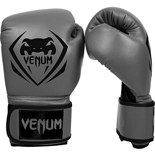 Venum Erwachsene Boxhandschuhe Contender, Grau, 14oz, EU-2053
