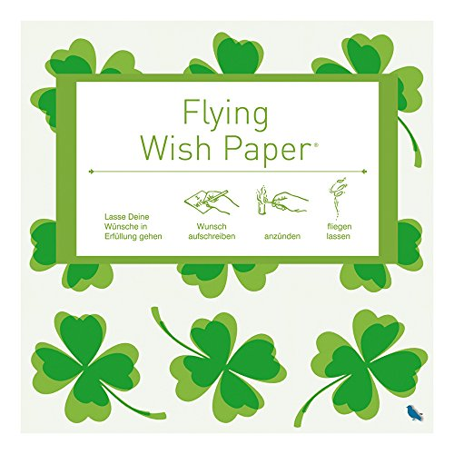 fliegendes Wunschzettel-Set FLYING WISH PAPER MINI GL