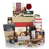 Cesta 'Navidad Gourmet' - Cestas de regalo de Navidad sin alcohol para él o para ella