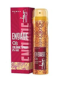 Engage Cologne Spray G3 for Women, 135ml