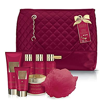 Baylis & Harding Relax and Retreat Weekend Bag, Midnight Fig and Pomegranate
