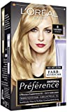 L'Oréal Paris Préférence Coloration Naturblond 8, 3er Pack (3 x 1 Colorationsset)