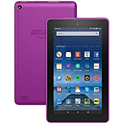 Fire-Tablet, 17,7 cm (7 Zoll) Display, WLAN, 8 GB (Magenta) - mit Spezialangeboten