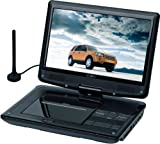 Reflexion DVD1010 portabler DVD-Player, Energieeffizienzklasse A (25,4 cm (10 Zoll) LCD-Bildschirm, DVB-T Tuner)
