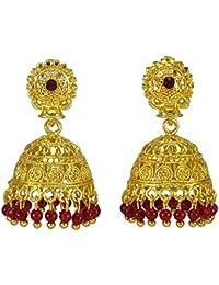 cc5b3857387d Banithani tradicional indio bollywood étnicos dorado JewelryKundan pendiente  mujeres set joyería