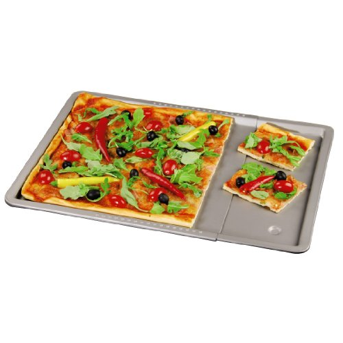 xavax-1-piece-extendible-baking-tray-with-15-cm-border-grey
