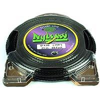 Ratio Parts Nylon Hilos 3,5mm nylsaw 27m Carrete 4Cantos Dentada, Color Negro