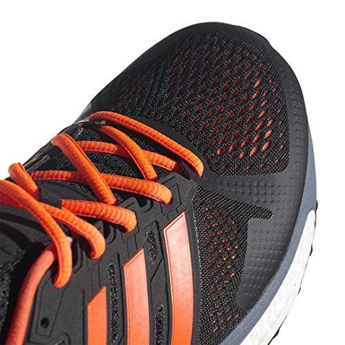 adidas Supernova St M, Scarpe Running Uomo Nero (Core Black/solar Orange/raw Steel S18)