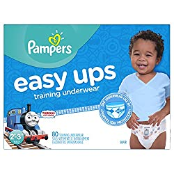Pampers Boys Easy Ups Training Underwear, Size 2t-3t, 80 Count
