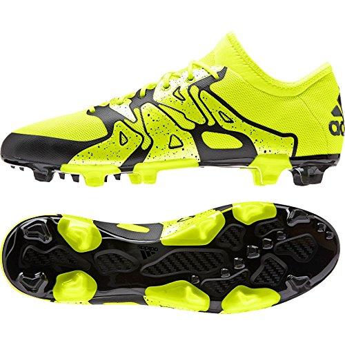adidas X15.2 FG/AG, Chaussures de football homme Multicolore - Lima / Negro / Blanco