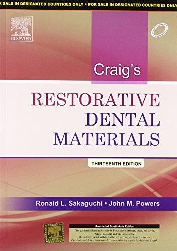 Craig's Restorative Dental Materials, 1e