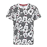Disney Childrens/Boys Official Mickey Mouse All-Over Face Print T-Shirt (Years (13-14)) (Multicoloured)