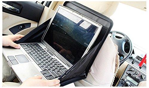 Tragbaren Laptop-schreibtisch (Wuudi Auto Laptop Rack Oxford Stoff faltbar Laptop Schreibtisch Tragbar Laptop Rack Auto Auto Halterung)