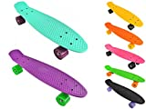 Longboard Retro Skateboard Skate Board mini Crusier ABEC-7 #3017