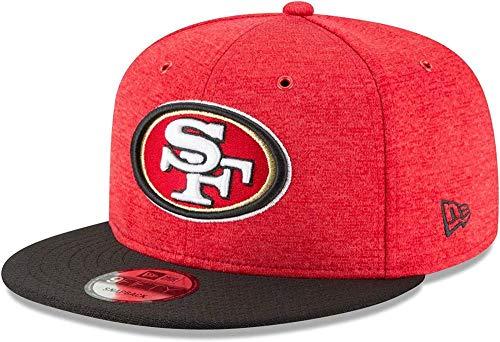 New Era NFL San Francisco 49ERS Authentic 2018 Sideline 9FIFTY Snapback Home Cap, Größe :M/L -