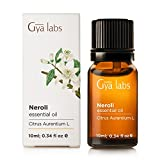 Neroli (Egypt) Essential Oil - 100% Pure, Undiluted, Natural & Therapeutic Grade For Aromatherapy Diffuser, Health Skin and Relaxtion - 10ml - Gya Labs