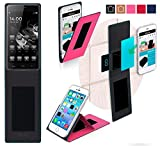 HomTom Ht5 Hülle in pink - innovative 4 in 1 Handyhülle -