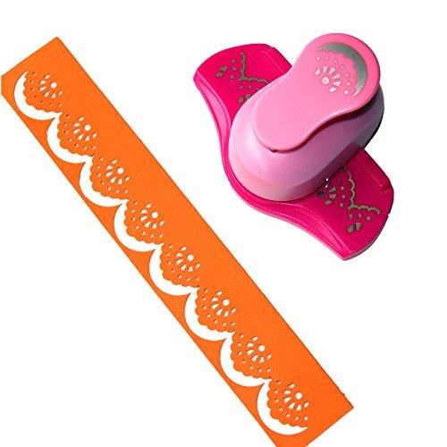 Perforadora papel diseño volutas Cady Largr herramientas