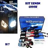 KIT CON CONTROLADOR XENON HID H7 6000 K
