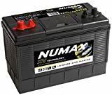Numax XV31MF Heavy Duty Ultra Deep Cycle Leisure Marine Battery - 3 Years