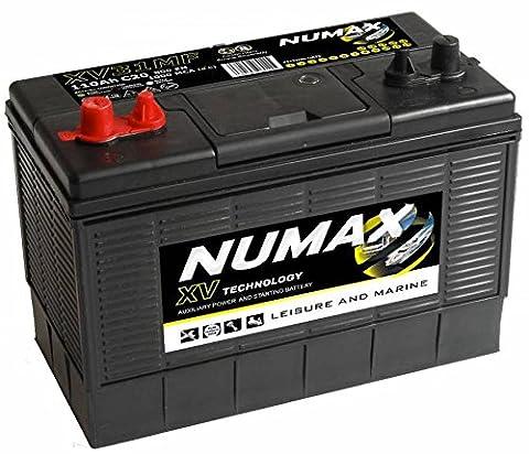 Numax XV31MF Deep Cycle Battery Electric Fence Solar & Wind Systems - 12V / 110Ah / 800EN