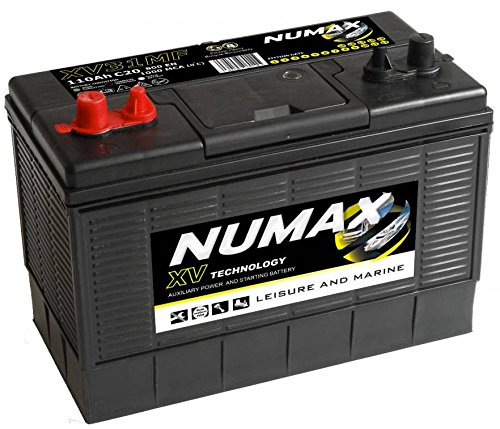 Numax Marine Loisirs, Dual Xvl5Mf Batterie Bateaux, Camping-Cars, Loisirs, 12V 100Ah 800 Amps (En)