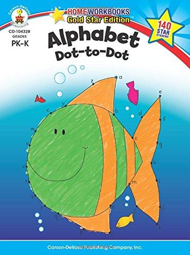 Alphabet, Grades Pk - K: Gold Star Edition (Homeworkbooks)