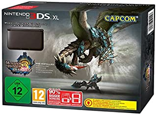 Console Nintendo 3DS XL noire + Monster Hunter 3 - Ultimate - édition limitée (B00BFX79YG) | Amazon price tracker / tracking, Amazon price history charts, Amazon price watches, Amazon price drop alerts