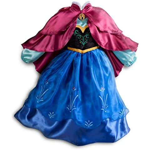 Disney Store Frozen Princess Anna Costume Size Medium