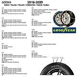 Goodyear GODKN120 Schneeketten 9 mm, T.120 9MM, Set of 2