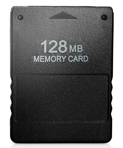 PS2 Speicherkarte für Sony PS2 Playstation 2, 128 MB (Sonic Memory-spiel)