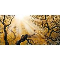 Möbel & Wohnaccessoires My Own Enemy von Dawid Planeta Posterlounge Holzbild 80 x 120 cm Möbel & Wohnaccessoires