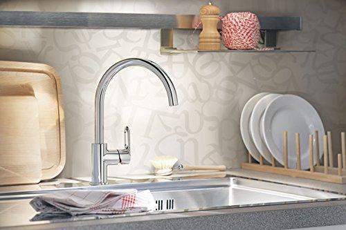 Grohe Start Loop Küchenarmatur, hoher Auslauf, Schwenkbereich 360°, (31374000) -