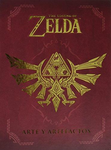 Libro Zelda con recopilación de artefactos