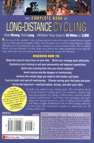 The Complete Book of Long Distance Cycling: Build the Strength, Skills and Confidence to Ride as Far as You Want