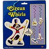 Circo blanco y azul