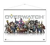 Overwatch Wallscroll Heroes