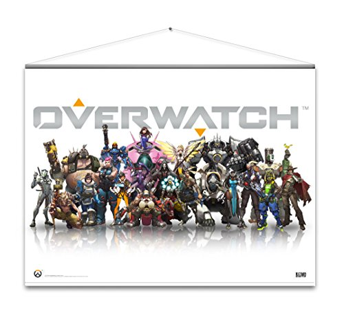 Tour Großes Poster (Overwatch Wallscroll Heroes)