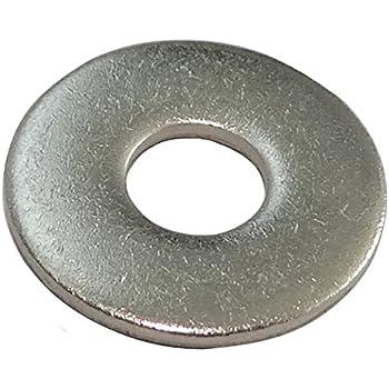 pour M10 Inox A2 Lot de 100/rondelles de carrossier 10,5/x 35/
