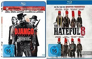 Quentin Tarantino Western-Set mit Django Unchained und The Hateful 8 - Deutsche Originalware [2 Blu-rays]