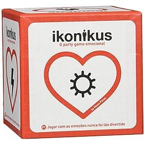 Brain Picnic- Ikonicus Ikonikus 4ª edición, Color rojo y blanco (IKON004) , color/modelo surtido