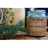 Cozy Glow Kiefernnadel Soja Kerze Jar - 35 + Stunden Burning Time