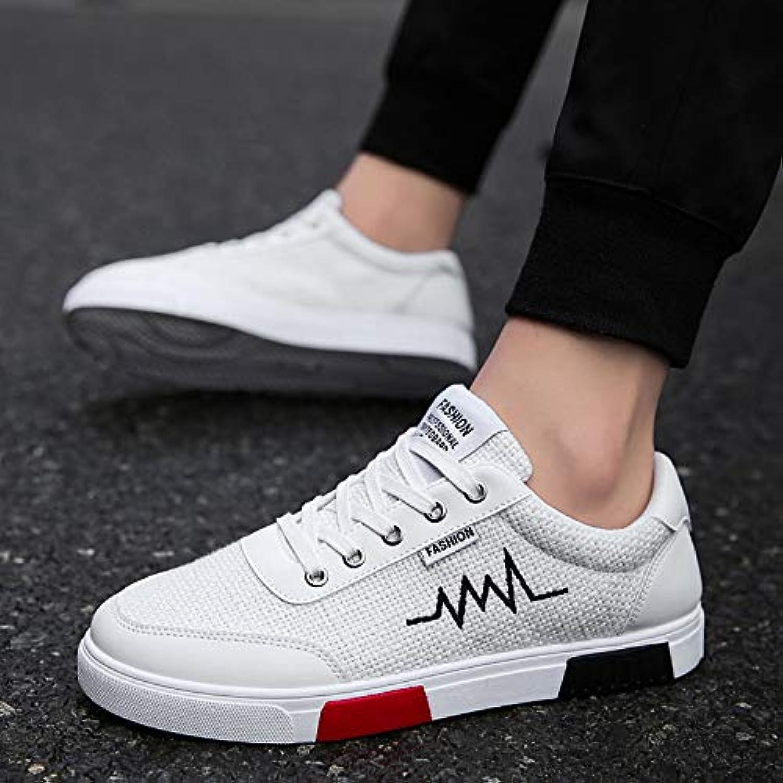 NANXIEHO Scarpe di di di tela di lino scarpe di tela tendenza scarpe da uomo autunno e inverno moda scarpe sportive... | Il colore è molto evidente  44d32b