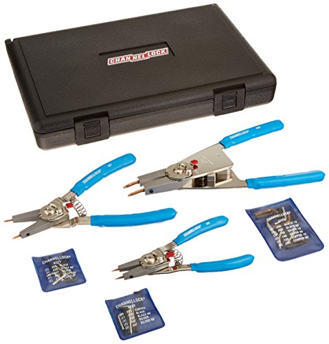 Channellock rt-3 Convertible Sprengring Zange Set, 3-teilig Snap Tab