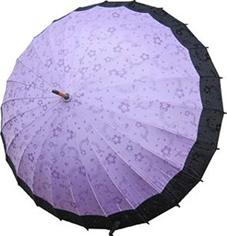 Sushi Costume Fille - Parapluie Arabesque Japonaise Importe Directement du Japon